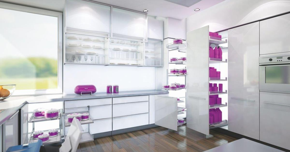 Kuchnia pełna pomysłów Sposoby na przechowywanie w szaf