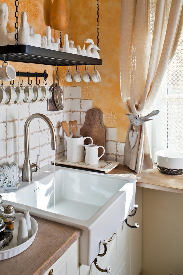 Zobacz galerię zdjęć Kuchnia w stylu retro Pomysł na