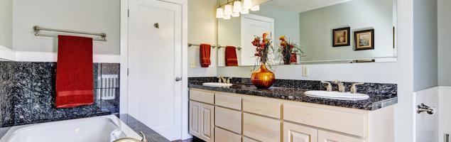 Granit we wnętrzu – aranżacja łazienki. Inspiracja naturalnym materiałem