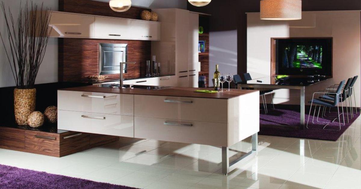 aranżacje kuchni � kuchnia w salonie czy salon w kuchni