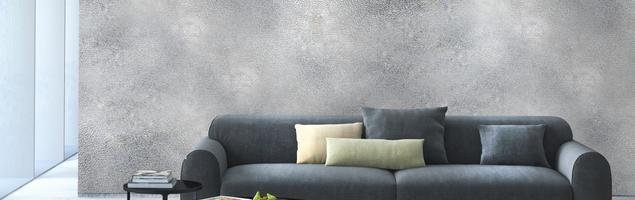Efekt aluminium na ścianie. Farba dekoracyjna do wnętrz